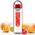 Бутылка Fruit Bottle 800мл, красная
