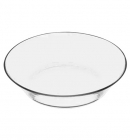 Набор 6 стеклянных тарелок Invitation Ø22см, глубокие