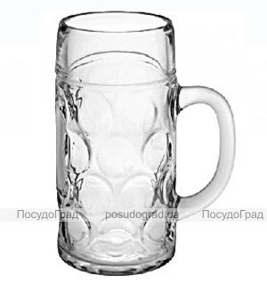 Кружка для пива PUB 1000мл 1шт