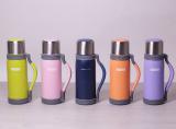 Термос Kamille Perfection&Style 1200мл с ремешком и ручкой