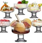 Набор стеклянных креманок Aquatic Ice Ville 6 штук