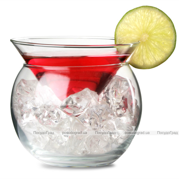 Стакан для мартини Petra 230мл с емкостью для льда