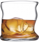 Набор 4 стакана Pasabahce Amorf 340мл для виски, в подарочной коробке