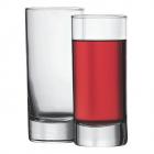 Стеклянный высокий стакан Side 284мл для напитков