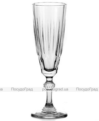 Набор 3 фужера Diamond для шампанского 170мл