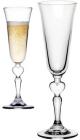"""Набір 2 фужера для шампанського Wedding Vintage """"Heart"""" 140мл, весільна пара"""