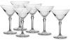 Набір 6 фужерів Pasabahce Hudson для мартіні 230мл