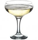 Набор 12 стеклянных фужеров Bistro для шампанского 270мл