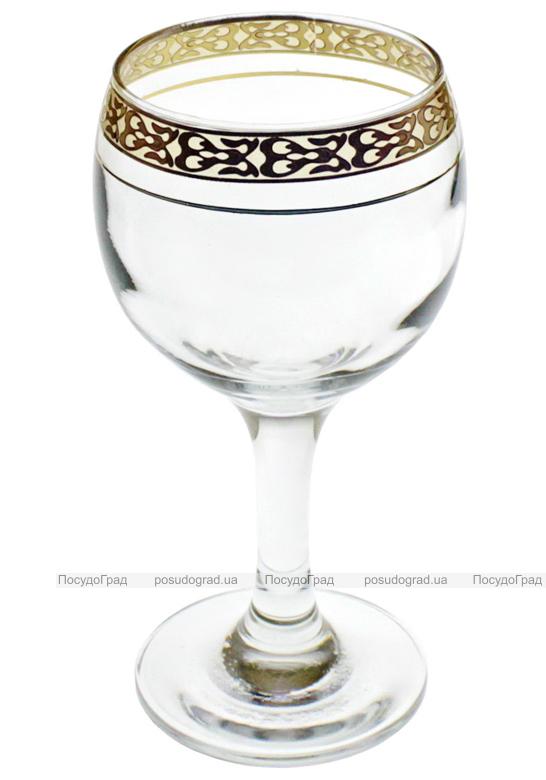 Набор фужеров для вина Bistro Gold 227мл 6шт