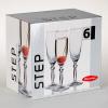 Набор фужеров для шампанского Step 170мл 6шт