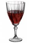 Набір 12 скляних фужерів Diamond 245мл для вина
