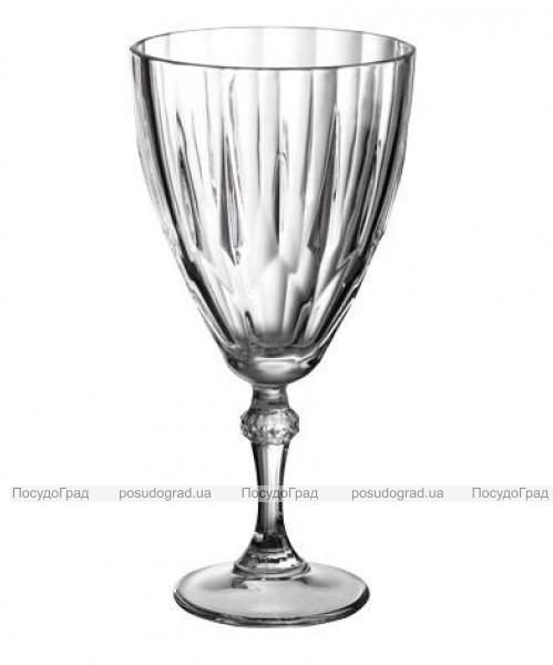 Набор 6 фужеров Diamond для вина и воды 300мл