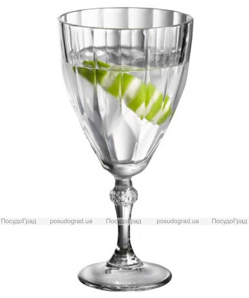 Набор 12 фужеров Diamond для вина и воды 300мл