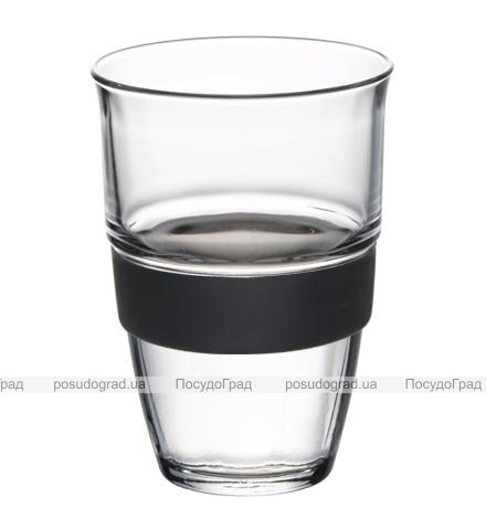 Набор стаканов TREND 220мл 3шт с силиконовым накладками