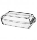 Форма для випічки прямокутна з кришкою Borcam 1,5л 1шт