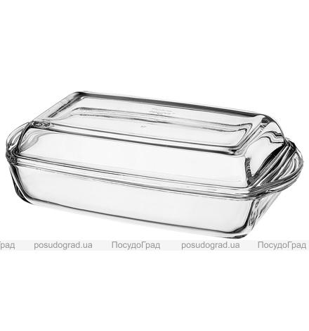 Форма для выпечки прямоугольная с крышкой Borcam 1,5л 1шт