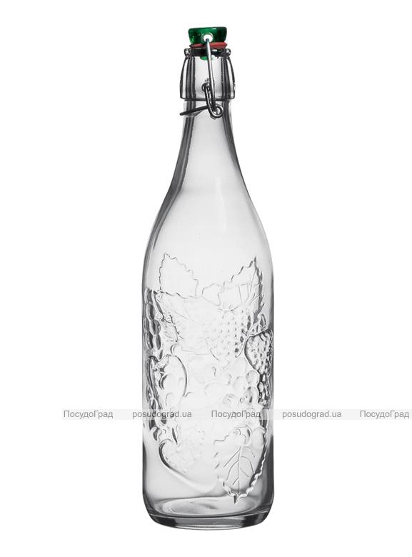 Бутылка Garden 1л с герметичной пробкой-защелкой