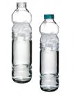 Пляшка Basic 1,1 л скло з пластиковою кришкою і силіконовим ущільнювачем