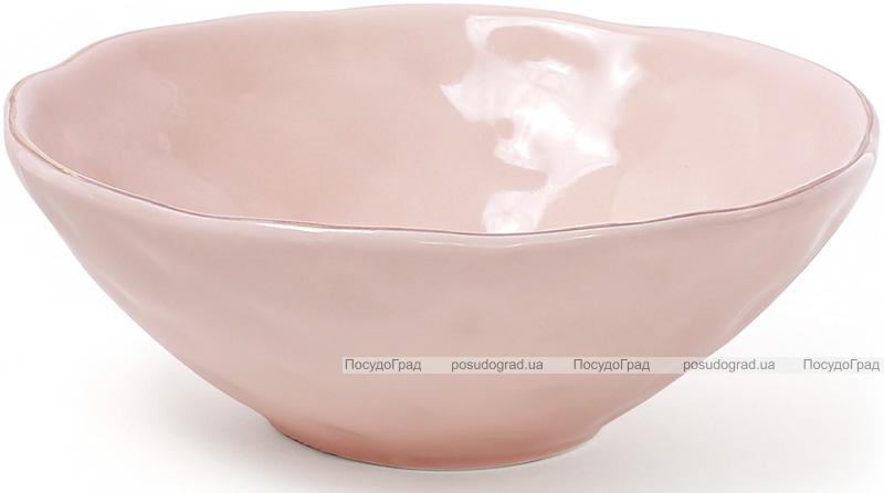 Набор 6 пиал керамических Bergamo 300мл, розовые