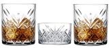 Набір для віскі Pasabahce Timeless 2 склянки 345мл і піала для льоду