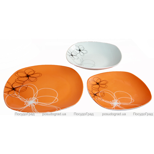 "Набор тарелок ""Orange"" 18 предметов"