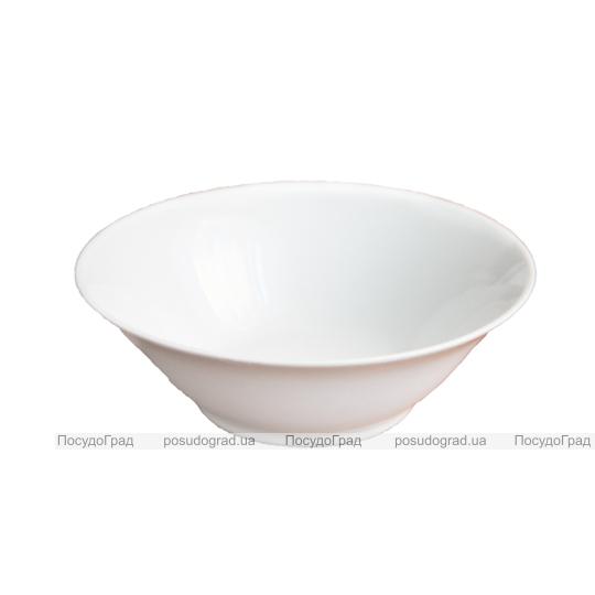 Салатник 15см круглый Белый, без рисунка