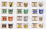 Набір попільничка + чашка-циліндр 350мл