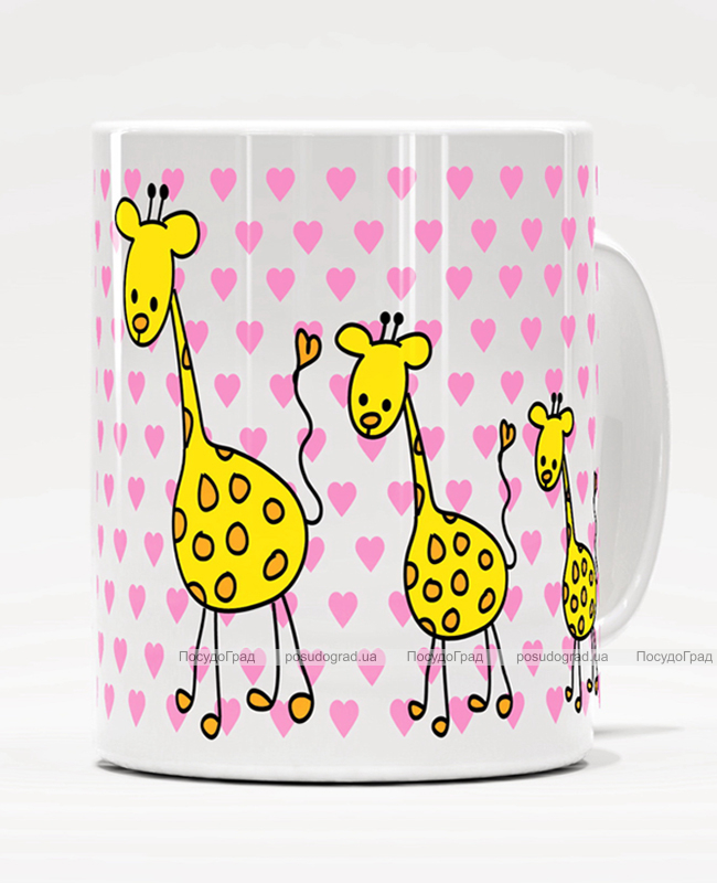 "Кружка ""Жираф"" 350мл"