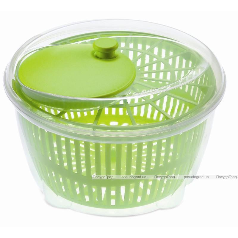 Сушка-карусель для зелени и овощей Kitchen-mix механическая центрифуга Heidrun Europlastic
