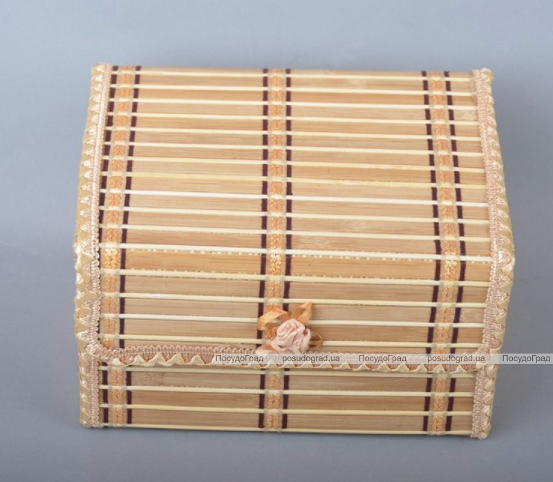 Набор 5 бамбуковых шкатулок ART Bamboo-1A Матрешка