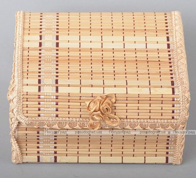 Набор 4 бамбуковые шкатулки ART Bamboo-5B Матрешка