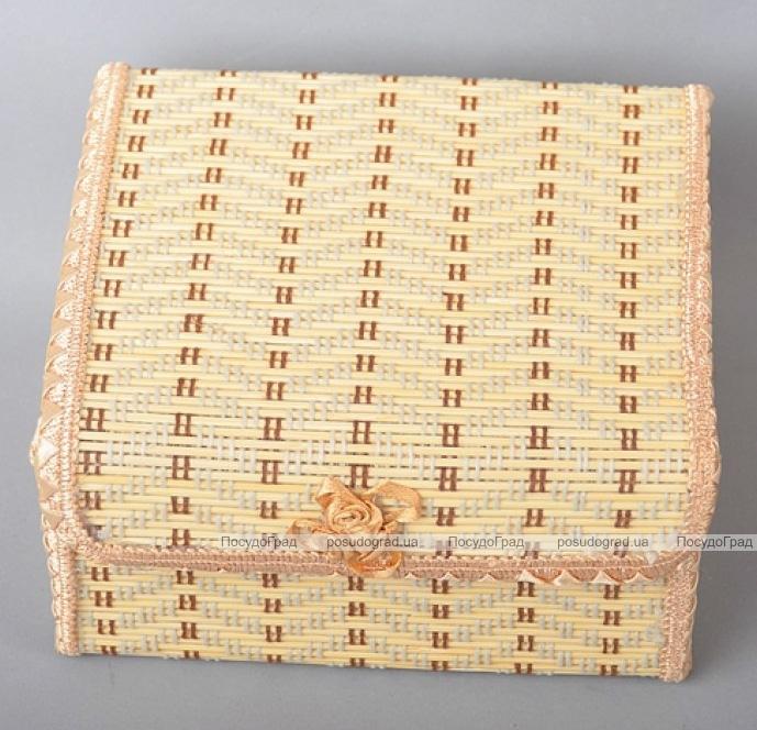 Набор 4 бамбуковые шкатулки ART Bamboo-6A Матрешка