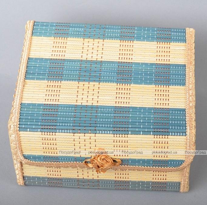 Набор 4 бамбуковые шкатулки ART Bamboo-6B Матрешка