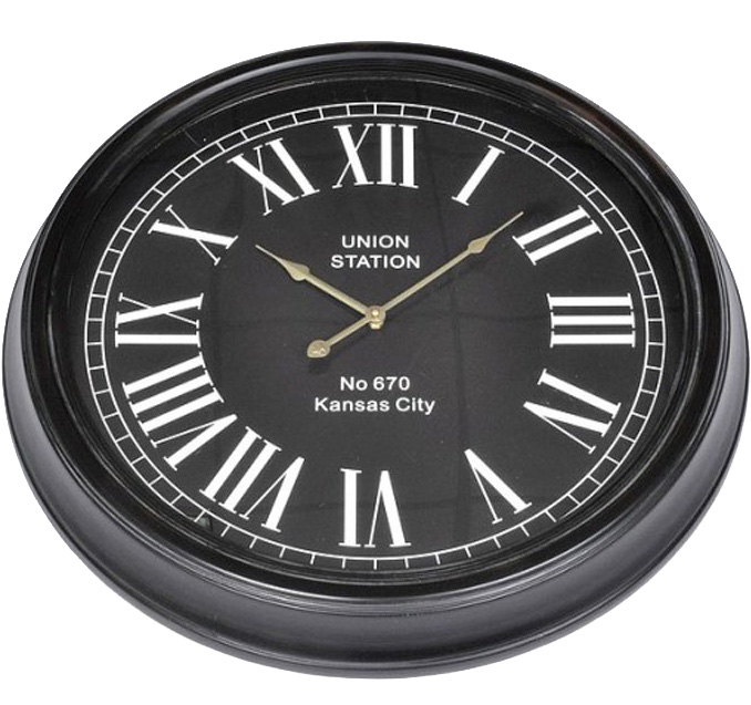 """Часы настенные """"Kansas City"""" Ø63см"""
