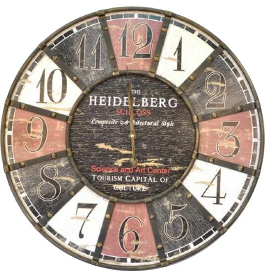 """Часы настенные """"Heilderberg"""" Ø60см"""