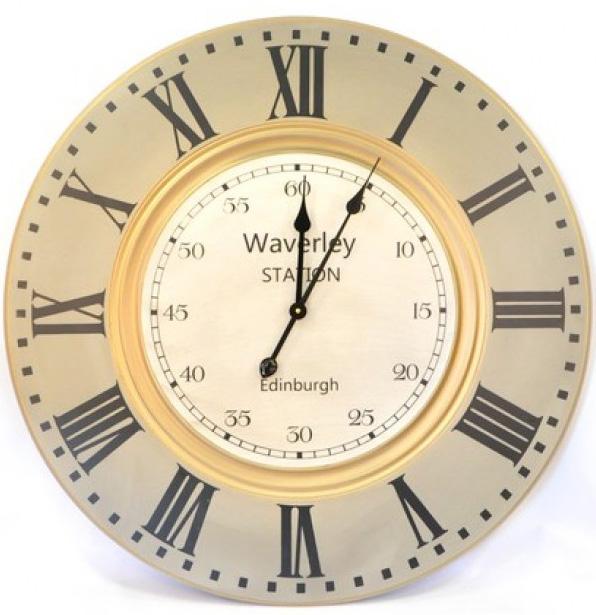 """Часы настенные """"Waverley station"""" Ø80см"""