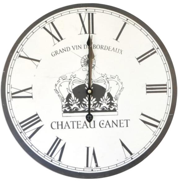 """Часы настенные """"Chateau Canet"""" Ø40см"""