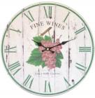 "Часы настенные ""Fine Wines"" Ø33.8см"