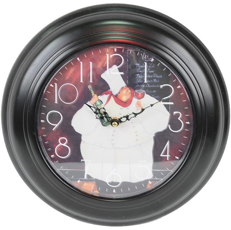 """Часы настенные """"Шеф-повар"""" Ø32см"""