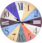 """Часы настенные """"Rainbow"""" Ø33.8см"""