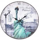 "Часы настенные ""Symbol of New York"" Ø28.8см"