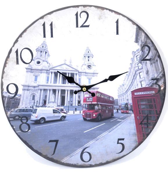 """Часы настенные """"England"""" Ø33.8см"""