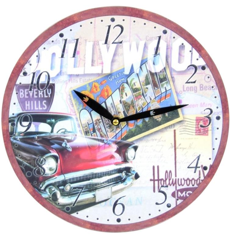 """Часы настенные """"Hollywood"""" Ø28.8см"""