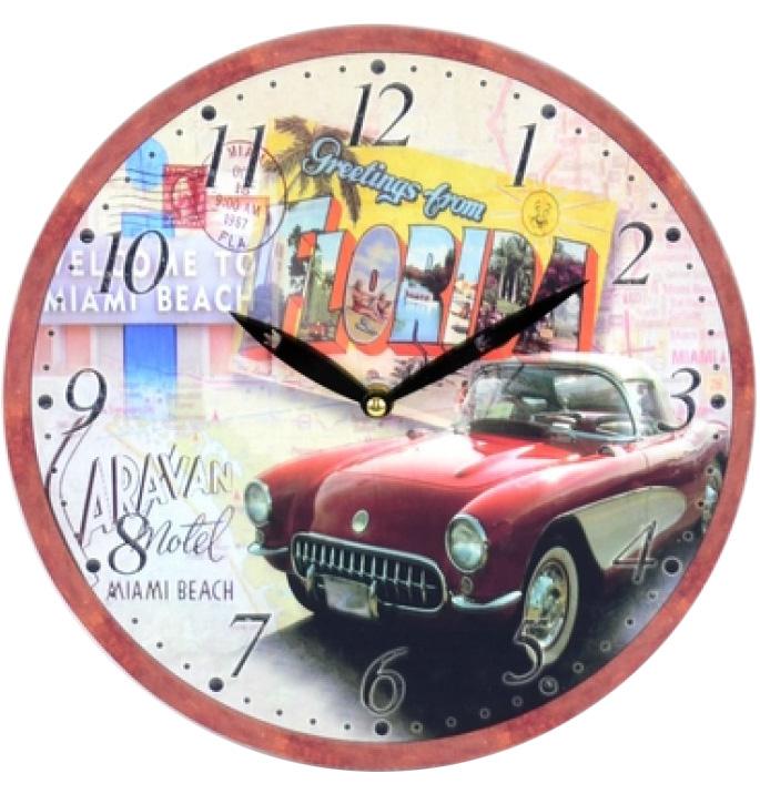 """Часы настенные """"Florida"""" Ø28.8см"""