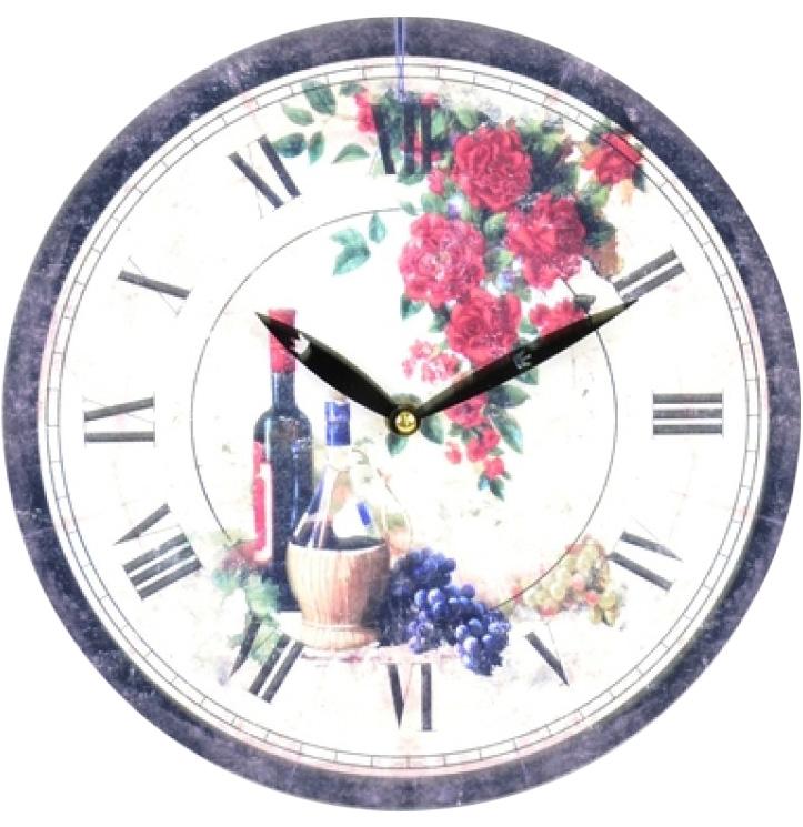 """Часы настенные """"Morning in Provence"""" Ø28.8см"""