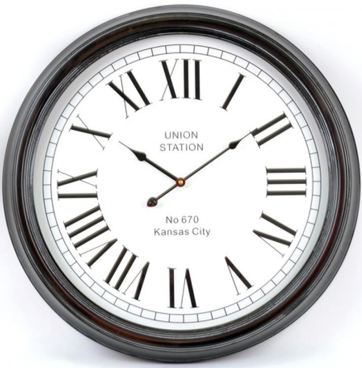 "Часы настенные ""Union Station"" Ø62.5см"