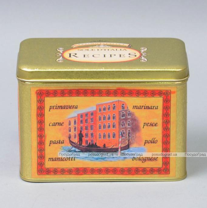 """Коробка """"Recipes"""" для хранения сыпучих продуктов"""