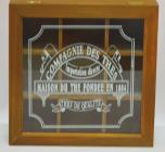 "Коробка-шкатулка ""Compagnie des thes"" для чая и сахара, 9 секций, 24х24см"