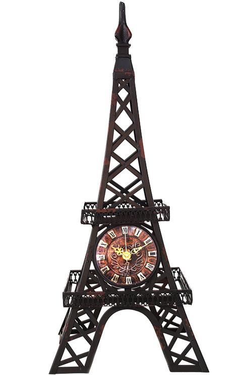 """Часы настольные """"Эйфелева башня"""" 25.5x25.5x5.6см"""