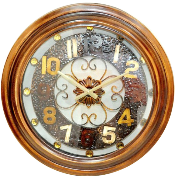 """Часы настенные """"Gold time"""" Ø55.5см"""